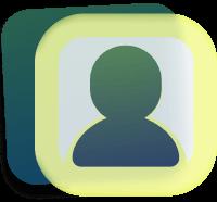 icon mesh user